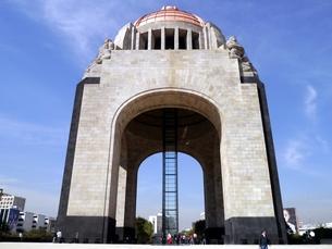 メキシコの首都メキシコシティにある革命記念塔の写真素材 [FYI00435559]