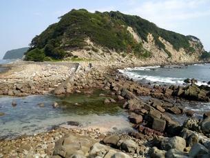 和歌山にある友ヶ島の虎島の写真素材 [FYI00435569]