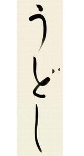 うどし書道の写真素材 [FYI00435837]