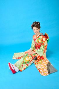 着物の女性の写真素材 [FYI00435950]