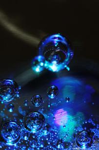 ガラスとイルミネーションの素材 [FYI00436105]
