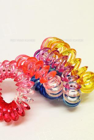 プラスチックの輪の素材 [FYI00436112]