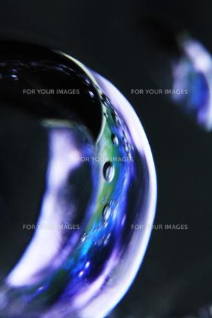 ガラスと写真の宇宙の素材 [FYI00436127]