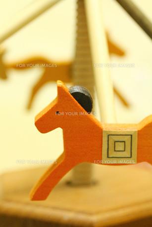回転木馬の素材 [FYI00436169]