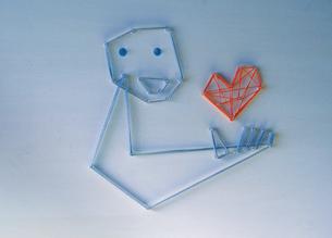 pin_heartの写真素材 [FYI00436181]