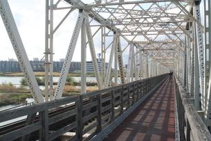 赤川鉄橋の写真素材 [FYI00436220]