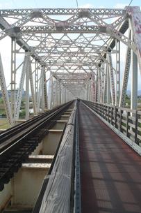 赤川鉄橋の写真素材 [FYI00436221]