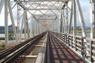 赤川鉄橋の写真素材 [FYI00436224]