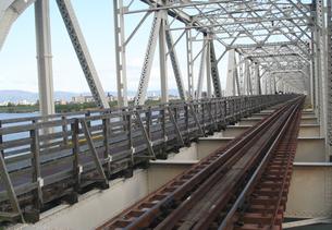 赤川鉄橋の写真素材 [FYI00436225]