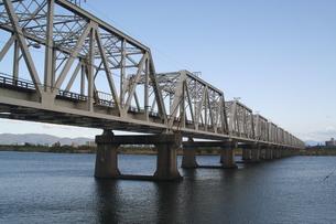 赤川鉄橋の写真素材 [FYI00436227]