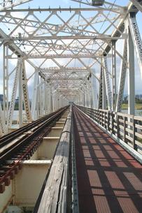 赤川鉄橋の写真素材 [FYI00436230]