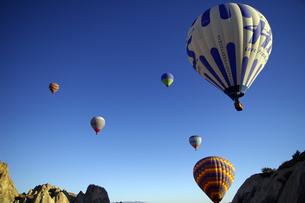 気球の写真素材 [FYI00436611]