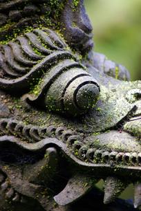 石像(龍)の写真素材 [FYI00436626]