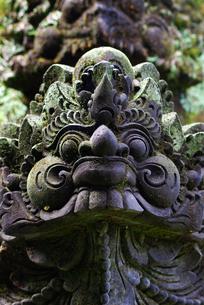 バリ島の石像の写真素材 [FYI00436654]
