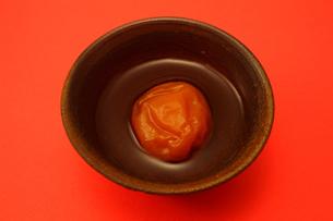 梅と陶器の写真素材 [FYI00437046]