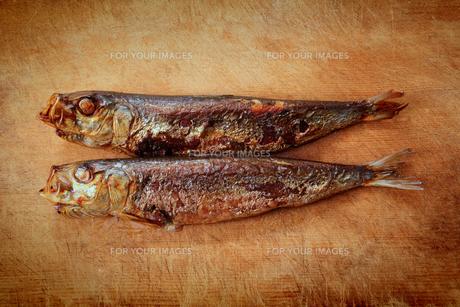 焼き魚の写真素材 [FYI00437074]