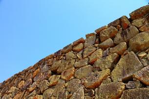 石垣の写真素材 [FYI00437078]