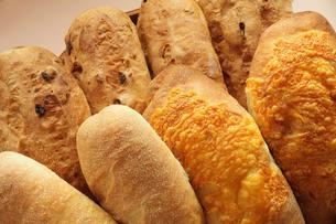 複数のパンの写真素材 [FYI00437092]