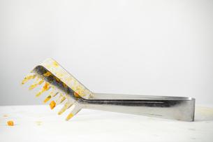 食後のトングの写真素材 [FYI00437108]