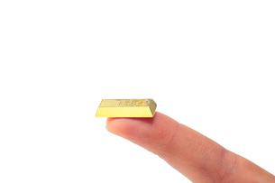 少しの金塊の写真素材 [FYI00437111]