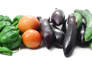夏野菜の写真素材 [FYI00437216]
