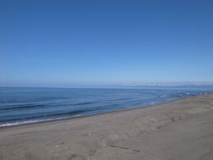 オホーツクブルーの海と空の写真素材 [FYI00437350]