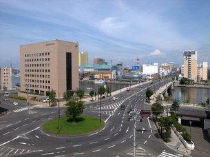 釧路のロータリーの写真素材 [FYI00437368]