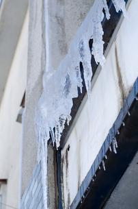 氷の氷柱の写真素材 [FYI00437406]