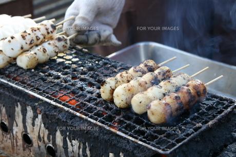 焼き団子の写真素材 [FYI00437408]