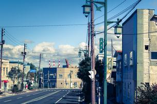 釧路の街並みの写真素材 [FYI00437416]