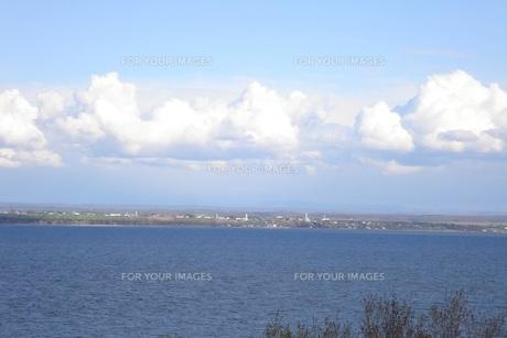 海と雲の写真素材 [FYI00437440]
