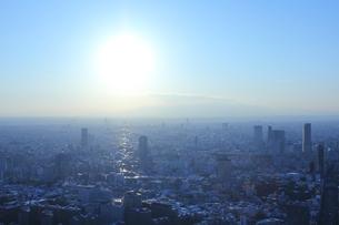 Tokyo × 光の写真素材 [FYI00437498]