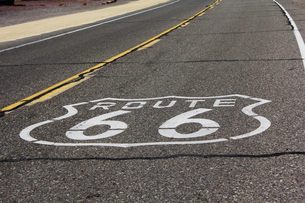 Route66、アメリカ、USの写真素材 [FYI00437505]