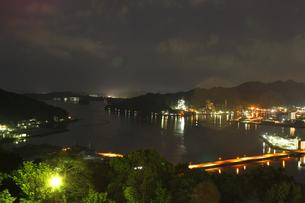 夜の海の写真素材 [FYI00437681]