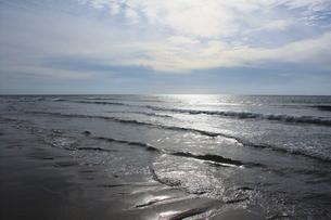 砂浜の写真素材 [FYI00437796]
