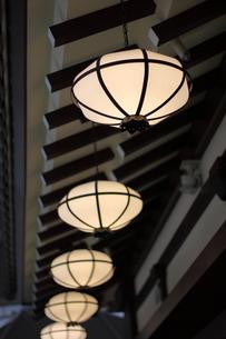 セントレア空港内の食堂の照明の写真素材 [FYI00437873]