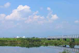 木曽川河畔の素材 [FYI00438131]