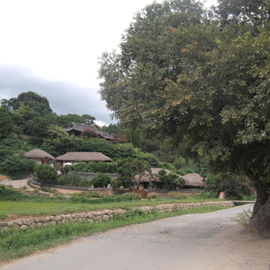 世界遺産・慶州良洞村(キョンジュヤンドンマウル)の素材 [FYI00438957]