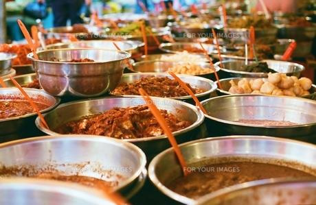 市場の食材の写真素材 [FYI00438985]
