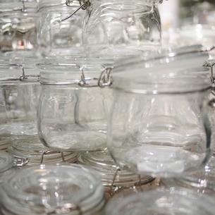 ガラスの容器 丸の写真素材 [FYI00439008]