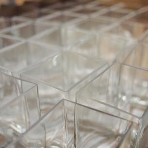 ガラスの容器 角の写真素材 [FYI00439015]