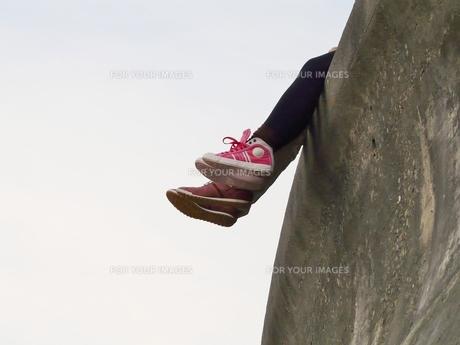 デートする二人の足の素材 [FYI00439026]