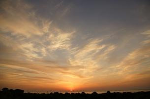 室戸岬の日の出の写真素材 [FYI00439796]