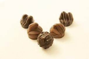 チョコレートV字の素材 [FYI00439812]