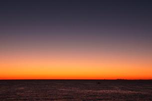 夕暮れの空の写真素材 [FYI00439815]