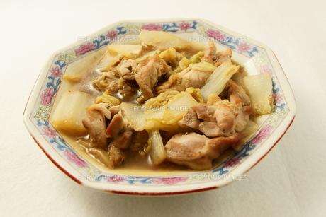 鳥肉と野菜の炒め物の写真素材 [FYI00439827]