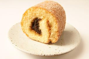 菓子 菓子パン 1個の写真素材 [FYI00439903]