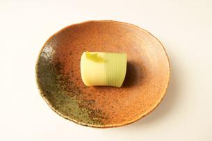 菓子 和菓子 竹の素材 [FYI00439905]