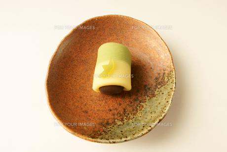 菓子 和菓子 竹の素材 [FYI00439909]
