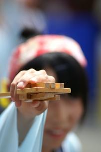 鳴子 鳴子踊り よさこい祭りの写真素材 [FYI00439933]